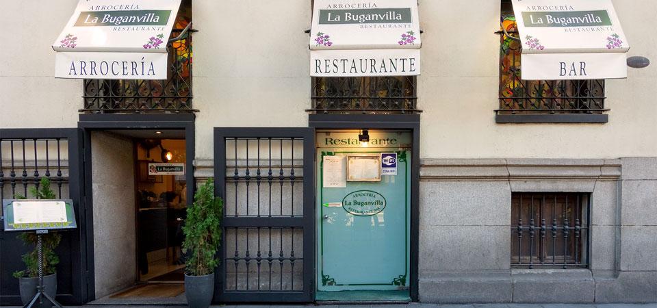 Almagro restaurante exterior restaurante la buganvilla - La buganvilla ...