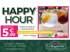 happy hour TERRAZA